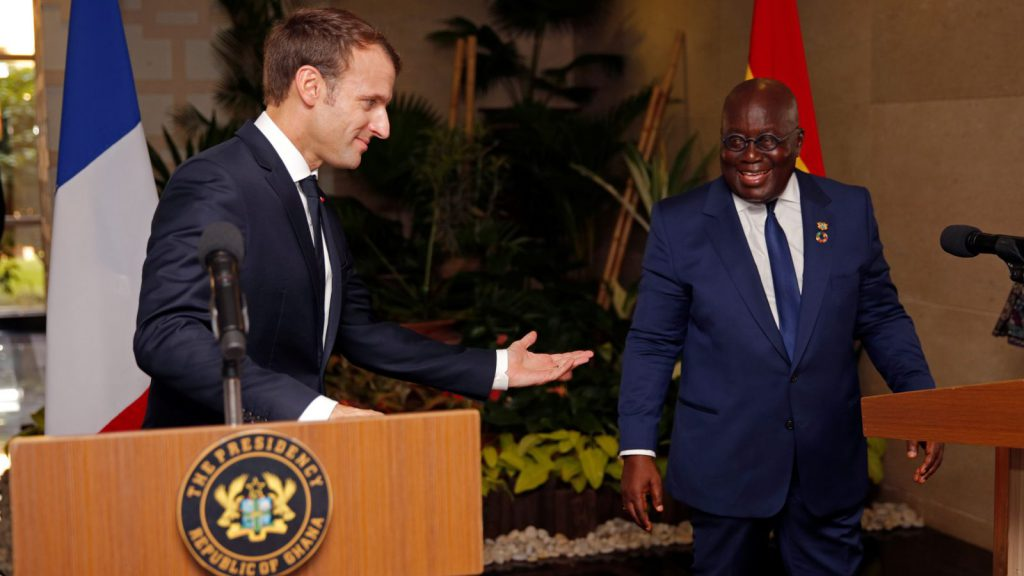 Ghanaian President Gets Radical with French, Europe